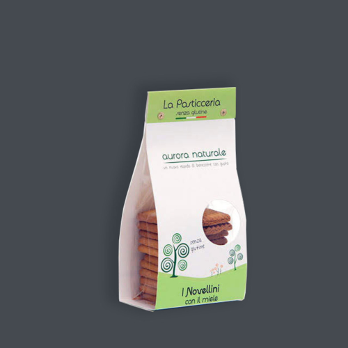 Novellini al miele senza glutine aurora Naturale